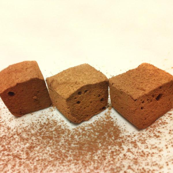 Chocolate Truffle Artisan Marshmallow 12 ct Dozen Gluten Free Organic Gourmet Kosher Gelatin