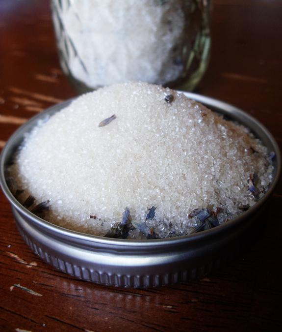 Organic French Lavender Sugar Vegan Free Recipe